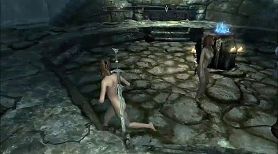 Cartoon, Cartoons, Slavegirl, Skyrim