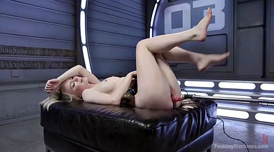 Close up, Anna, Machine orgasm, Orgasm machine