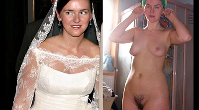 Bride, Cum compilation, Blonde