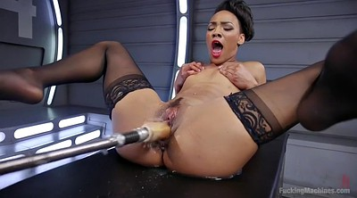 Machine fucking, Squirt black