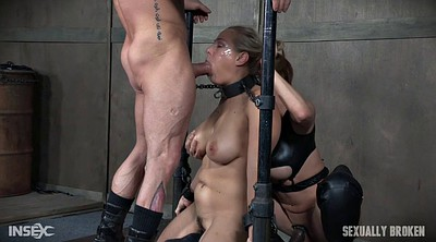 Leather, Lesbian threesome