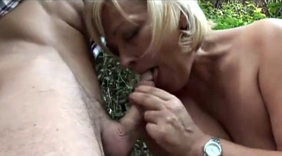 Forest, Handjob mature