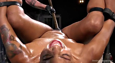 Squirt, Ebony squirt, Bdsm squirt, Hairy ebony, Dungeon, Bondage orgasm