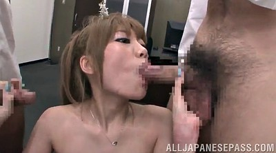 Double pussy, Mmf, Asian stockings, Asian double