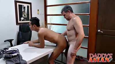 Boss, Asian interracial, Asian young