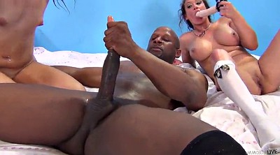 Threesome, Interracial anal