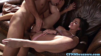 Cfnm, Girlfriend threesome