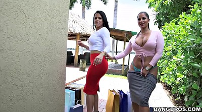 Outdoor, Shop, Diamond, Back, Latina lesbian, Spicy j