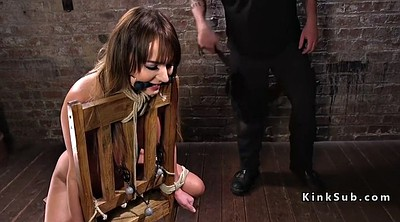 Whip, Whipping, Hogtied, Chair