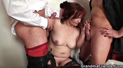 Granny threesome, Old bbw, Bbw wife, Wife double penetration, Double penetration wife, Double penetration mature