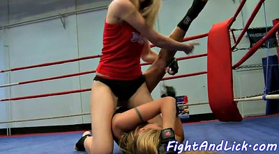 Fight, Lesbian fight, Wrestling, Cat