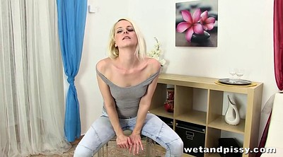 Pissing, Lap, Golden, Squirting orgasm