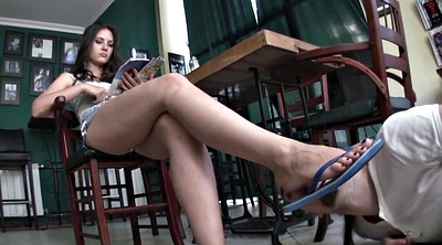 Foot worship, Femdom foot, Hot girl