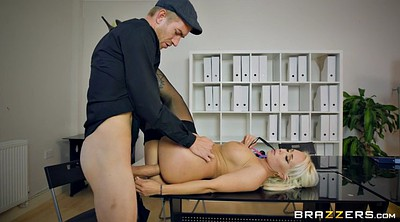 Big tit, Pierced, Office boss