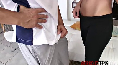 Amanda, Fit, Tate, Blonde cumshot