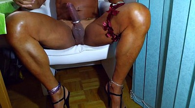 Crossdresser, Cd, Sperm, Gay black
