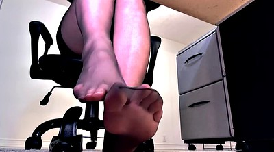 Footjob, Pantyhose footjob, Pantyhose feet, Feet fetish
