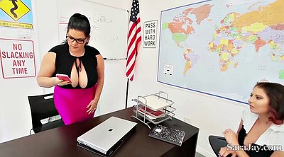 Sara jay, Teacher threesome, Angelina