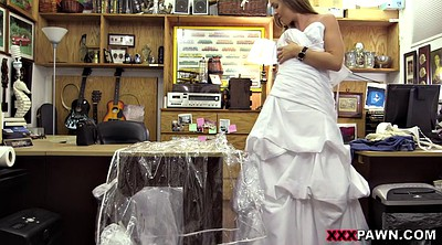 Wedding, Wedding dress, Banged, Dressing