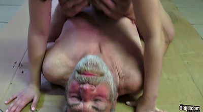 Old man, Granny pussy
