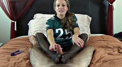 Nylon footjob, Nylon feet, Footjob nylon