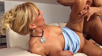 Mother, Old & young, Mature blowjob