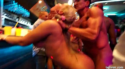 Sex in public, Party club, Group sex orgy