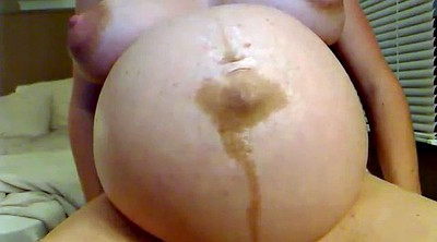 Milf solo, Preggo, Belly, Big tits solo, Big belly, Pregnant webcam