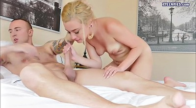Teen pussy, Teen blond, Pussy creampie