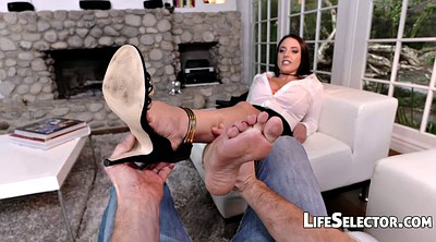 White, Angela white, Milf foot, Milf feet, Feet fetish, Big pov