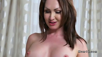 Fake, Mature milf, Creampie mom