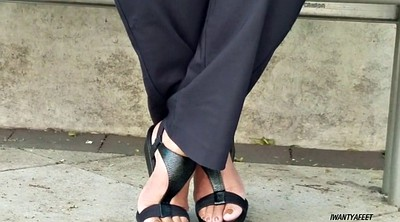 Lady, Mature feet