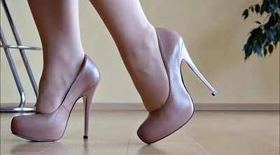 Shoes, High, High heels