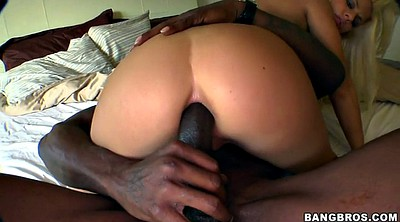 French, Pierced, Reverse cowgirl anal, Anal interracial