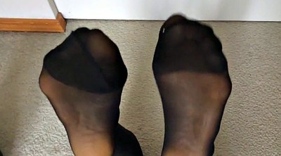 Nylon, Nylon feet, Nylon foot, Feet nylon, Yoing, Asian nylon