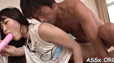 Asian anal, Japanese blowjob
