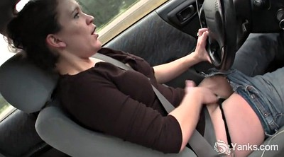 Yanks, Car masturbation, In car, Carly g