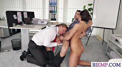 Boss, Anal party, Party anal, Threesome party, Start, Bi threesome