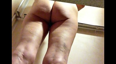 Hairy mature, Change, Hairy milf, Changing room, Changing