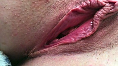 Gaping pussy, Clit, Open pussy, Pussy close up, Labia, Big clit