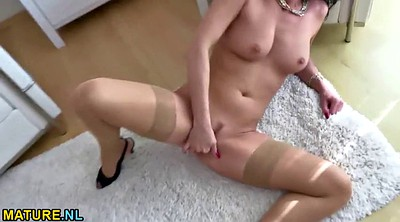 Stockings, Milf orgasm