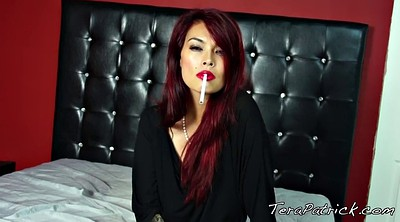 Tera patrick, Asian mature, Smoking fetish, Redhead milf
