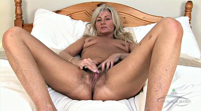 Hairy mature, Granny solo, Hairy granny, Bed