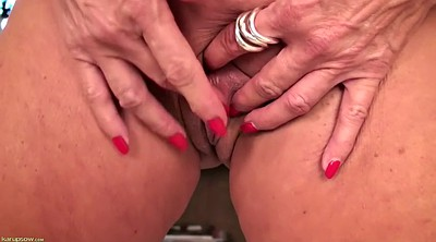 Busty granny, Busty mature, Granny solo, Mature orgasm, Busty mature solo, Wet pussy solo