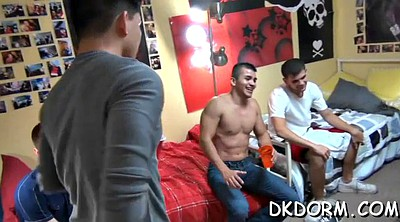 Group, Sex party, Public jerk, Jerking off, Gay party