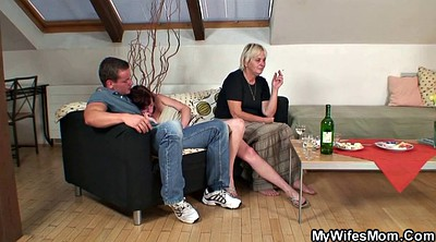 Granny, Mother in law, Mothers, In law, Mature blonde, Mother sex
