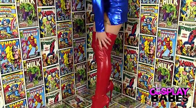 Cosplay masturbation, Comics, Big toys