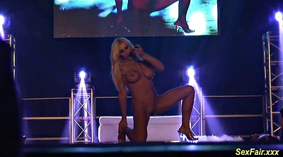 Naked, Stage, Public masturbation