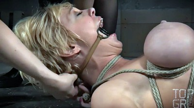 Torture, Dee, Cherry torn, Tit torture, Submissive, Latex bondage