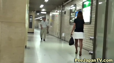 Toilet, Japanese pee, Japanese piss, Women, Japanese caught